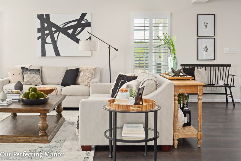 Our Home Our Modern Farmhouse Style Family Room Our Perfecting Manor