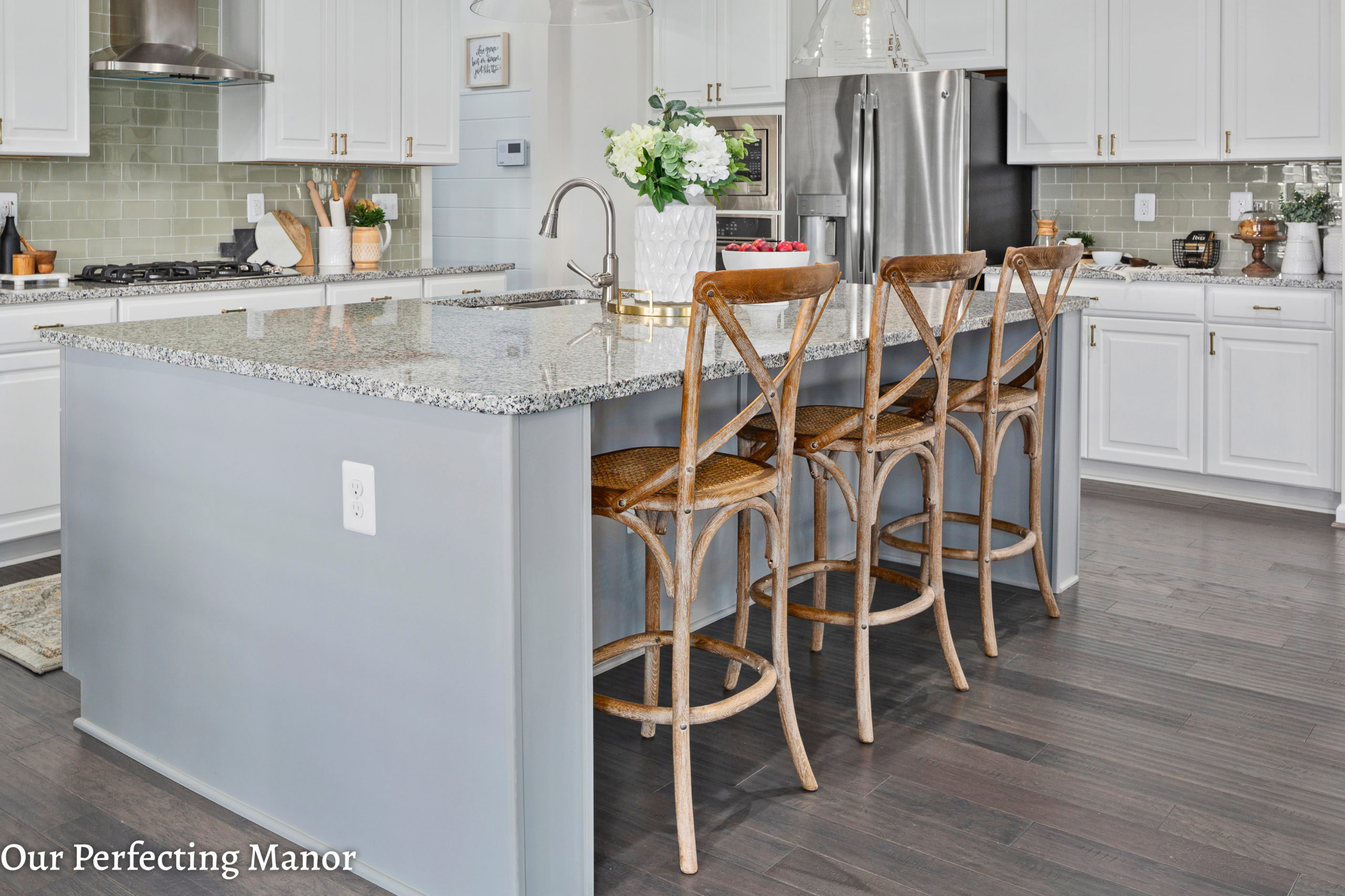 Our Home Our Open Concept Modern Farmhouse Kitchen Our Perfecting Manor