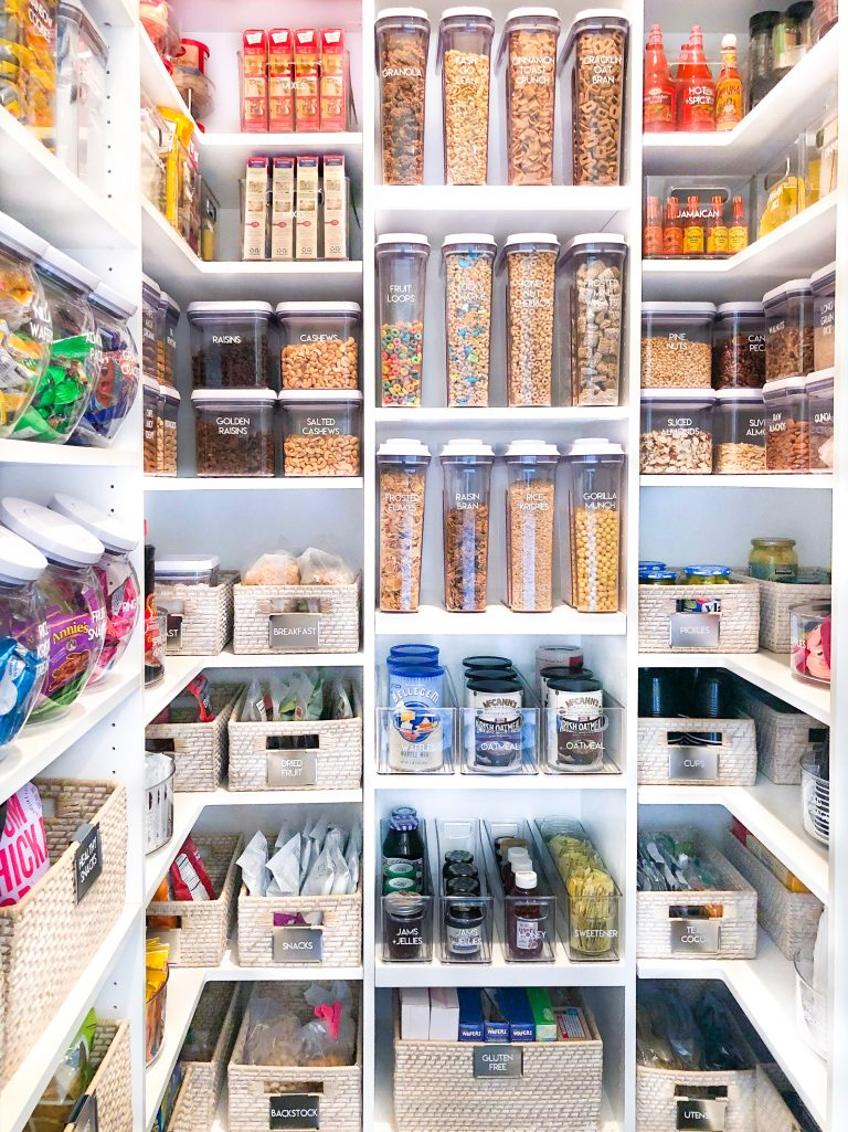 Budget Organizing How To Hack Khloe Kardashians Pantry Using Only Ikea Products Our Perfecting Manor