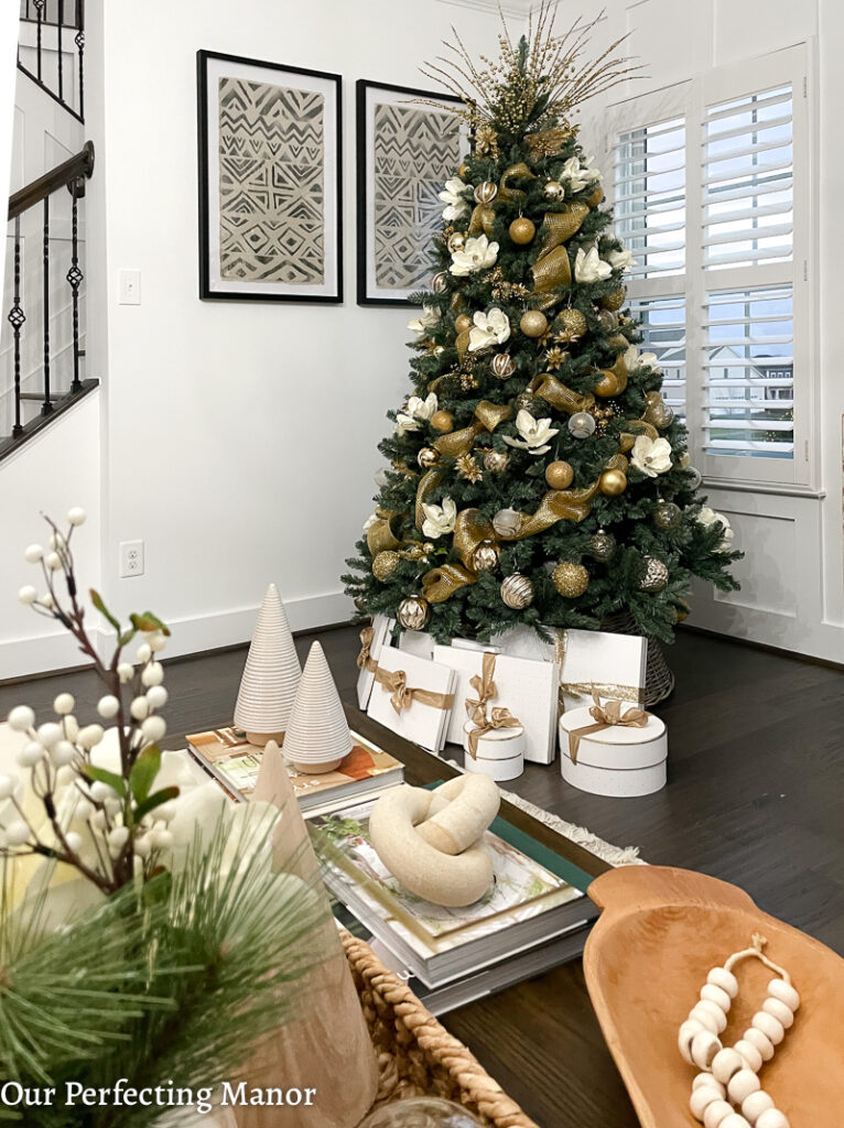 2020 Modern Farmhouse Christmas Home Tour Our Perfecting Manor